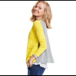 Cabi Colorblock Belle Cardigan